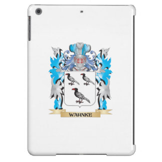 Wahnke Coat of Arms - Family Crest iPad Air Cover