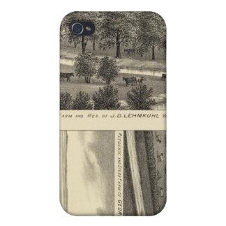 Wahoo Valley Farm, Nebraska Covers For iPhone 4