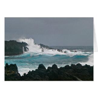 Wai'anapanapa State Park, Maui Greeting Card