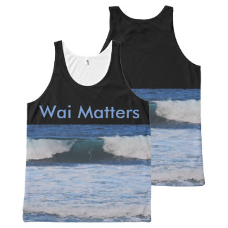 Wai Matters All-Over Print Tank Top