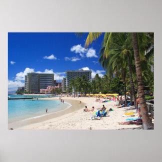 Waikiki Beach 1 Poster