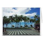 Waikiki Beach Hawaii Greeting Cards