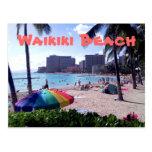 Waikiki Beach Postcard