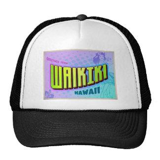 WAIKIKI TRUCKER HAT