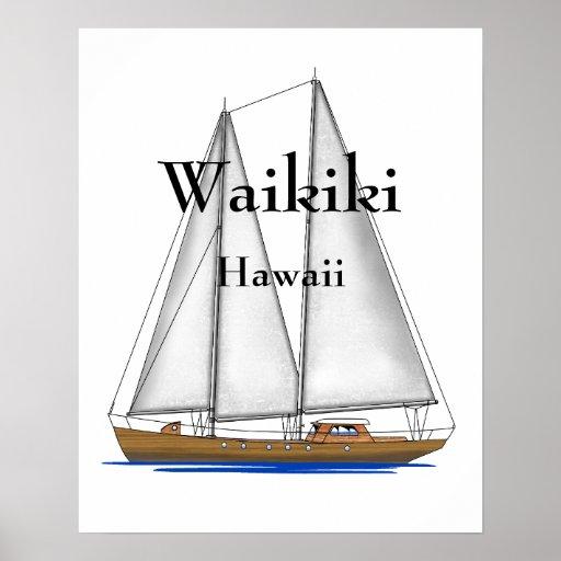 Waikiki Hawaii Posters