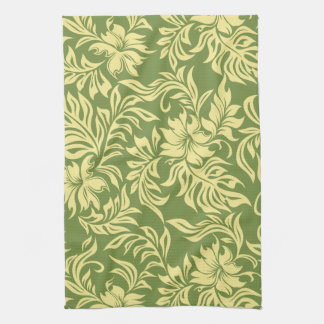Waikiki Hibiscus Hawaiian Kitchen Towel