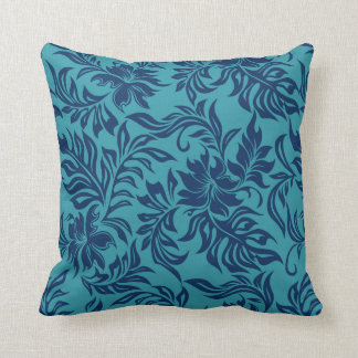 Waikiki Hibiscus Hawaiian Reversible Pillows