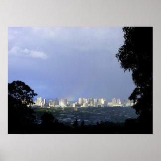 Waikiki Morning Posters