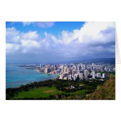 Waikiki Note Card