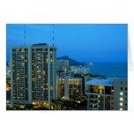 Waikiki Skyline Cards
