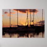 Waikiki Small Boat Harbour Print