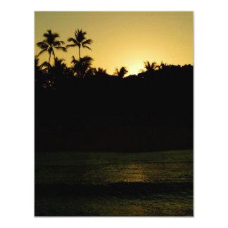 Waikiki Sunrise Invitation