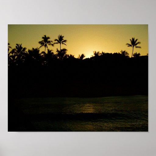 Waikiki Sunrise Posters