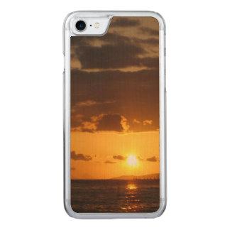 Waikiki Sunset Carved iPhone 8/7 Case