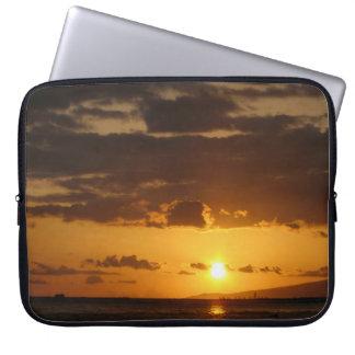 Waikiki Sunset Laptop Computer Sleeve