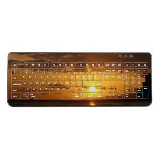Waikiki Sunset Wireless Keyboard