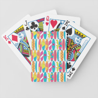 Waikiki Surfboards Bicycle Playing Cards