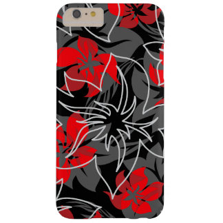 Wailea Hibiscus Hawaiian Floral Camo Barely There iPhone 6 Plus Case