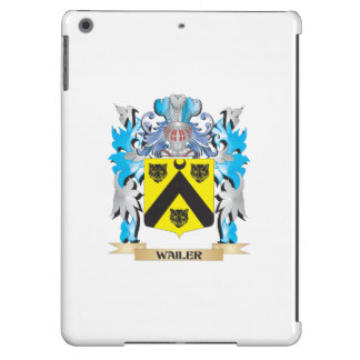 Wailer Coat of Arms - Family Crest iPad Air Cases