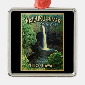 Wailuku State Park Hawaii Christmas Ornament