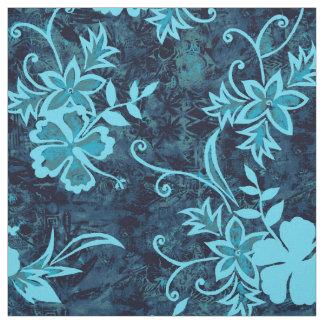 Waimanalo Hawaiian Hibiscus Batik Fabric