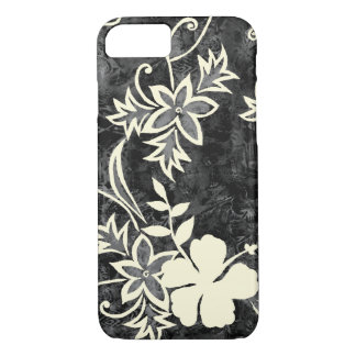 Waimanalo Hawaiian Hibiscus Batik iPhone 8/7 Case