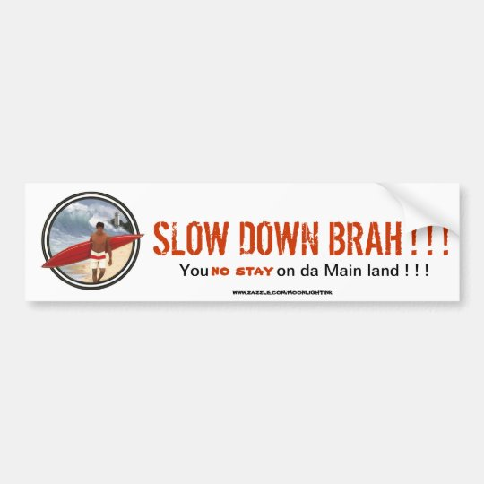 WAIMEA BAY PRODUCTS BUMPER STICKER