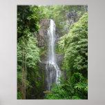 Waimea Falls, Hana, Maui, Hawaii Posters