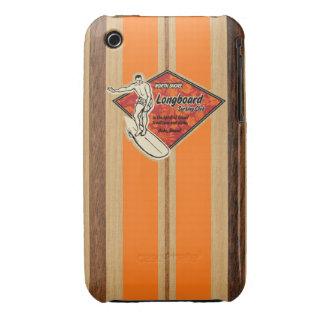 Waimea Surfboard Hawaiian Barely There iPhone 3GS iPhone 3 Covers