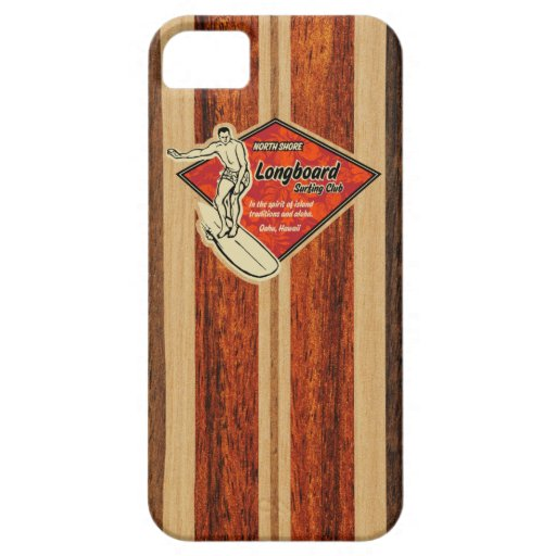 Waimea Surfboard Hawaiian iPhone 5 Cases Case For iPhone 5/5S