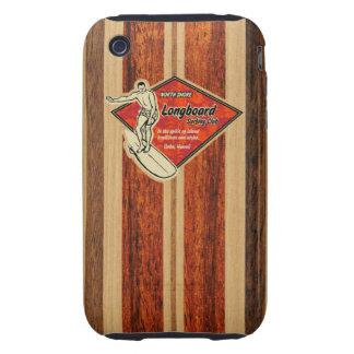 Waimea Surfboard Hawaiian Tough iPhone 3 Cover