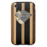 Waimea Surfboard Hawaiian Tough iPhone 3GS Case