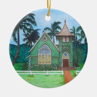 Wai'oli Hui'ia Church Christmas Ornament