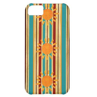 Waipahu Pipeline Striped Hawaiin Surfboard iPhone 5C Case