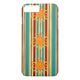 Waipahu Pipeline Striped Hawaiin Surfboard iPhone 8 Plus/7 Plus Case