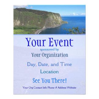 Waipio Valley Event Flyers