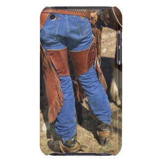 Waist down view of cowboy barely there iPod cases