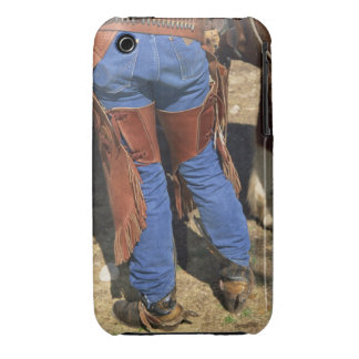 Waist down view of cowboy Case-Mate iPhone 3 cases