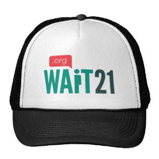 Wait 21 cap