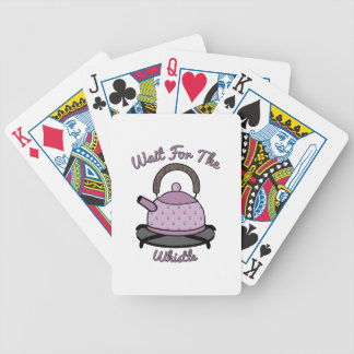 Wait For The Whistle Poker Cards