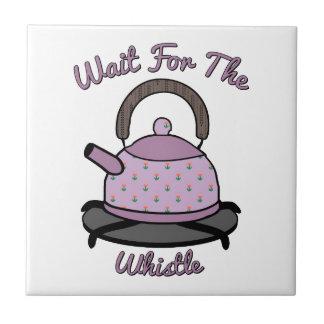 Wait For The Whistle Ceramic Tile