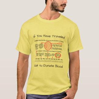 Wait to Donate Blood Zika Shirt by RoseWrites