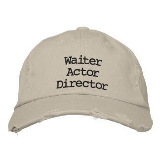 Waiter Actor Director La La Land Hat Embroidered Hats