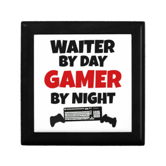 Waiter by Day Gamer by Night Gift Box