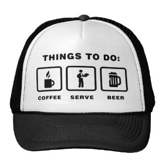 Waiter Mesh Hats