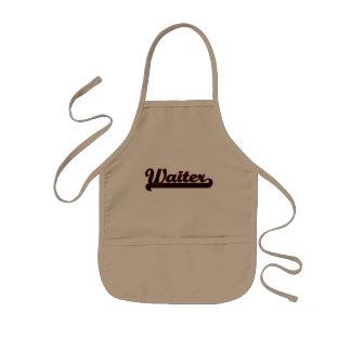 Waiter Classic Job Design Kids Apron