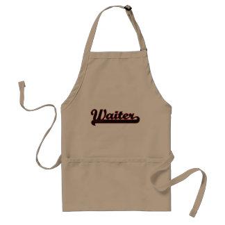 Waiter Classic Job Design Standard Apron