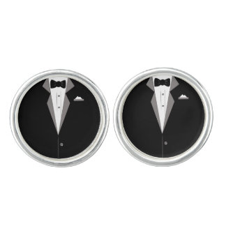 Waiter Fun Cuff Links