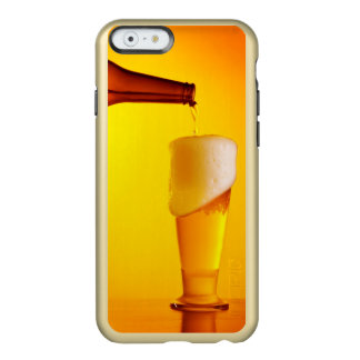 Waiter pouring beer, glass of a cold drink incipio feather® shine iPhone 6 case