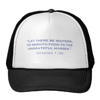 Waiters / Genesis Cap